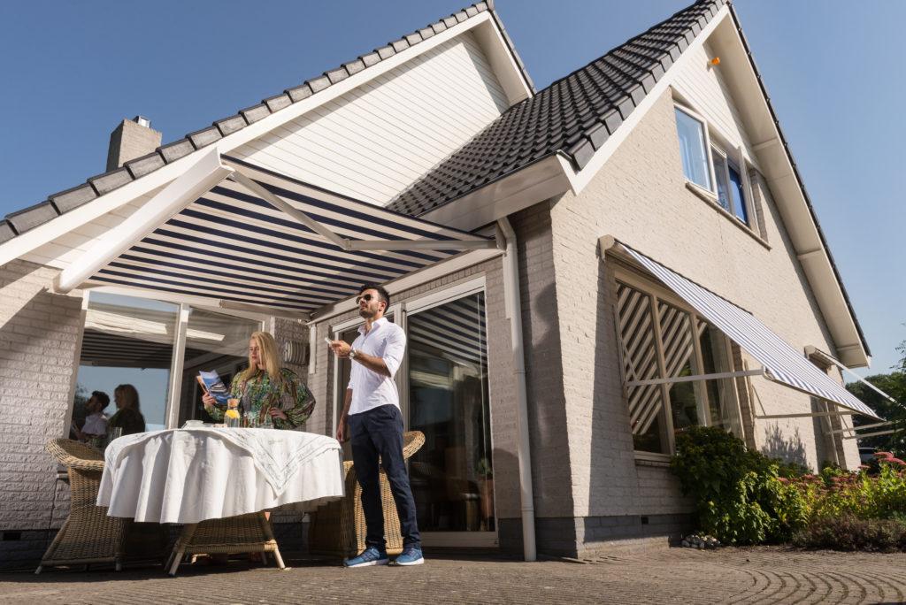 Afstandbediening terrasscherm