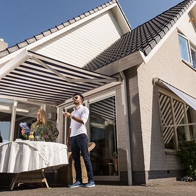Wat is het verschil tussen een zonnescherm, terrasscherm en uitvalscherm?