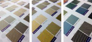 Kleur mogelijkheden screens zowering suncircle 2