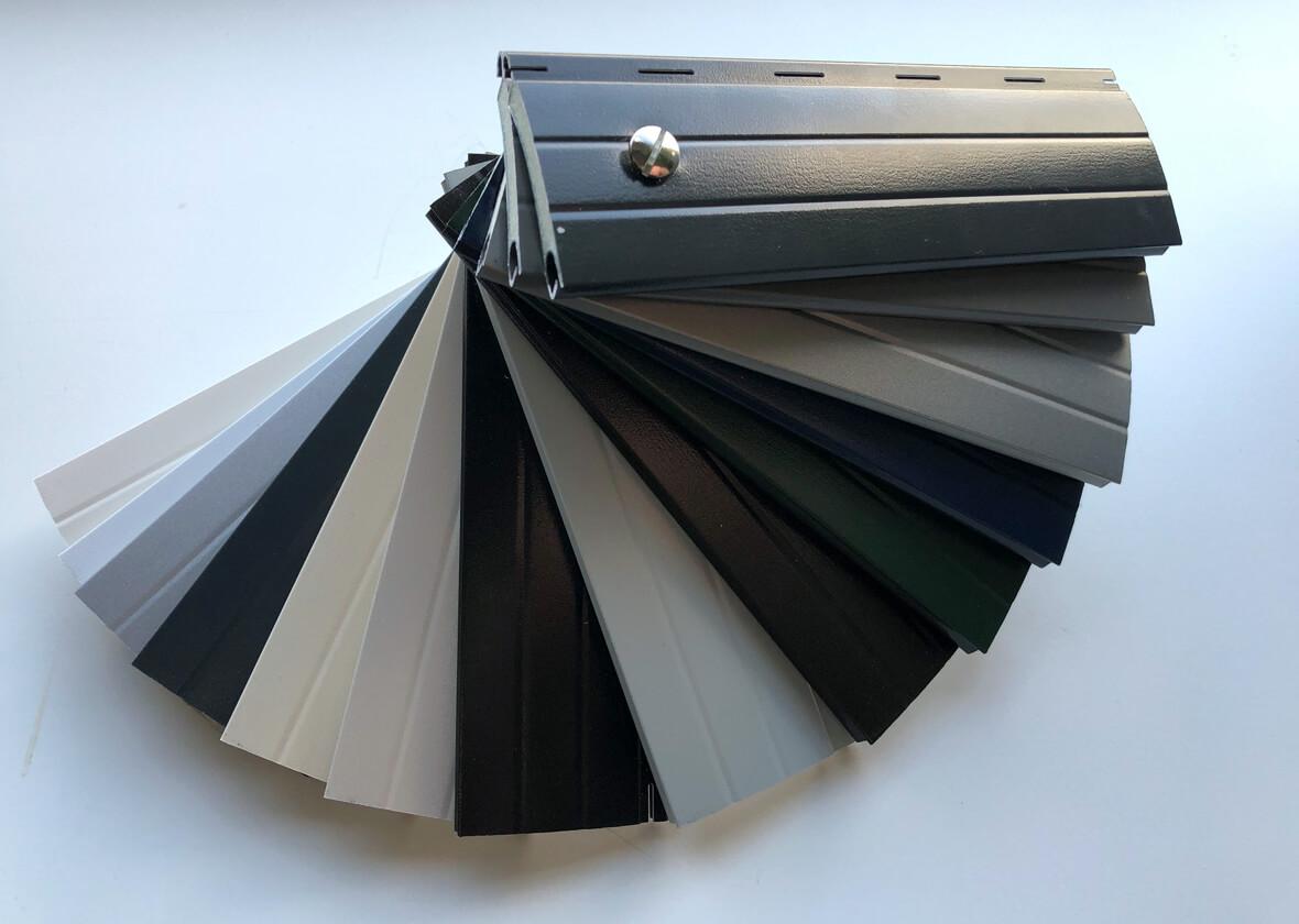 Rolluiken kleur mogelijkheden lamellen 2
