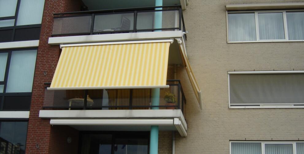 Balkon zonwering voor flat