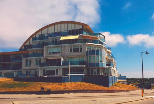 balkonzonwering aan de kust katwijk aan zee suncircle 1