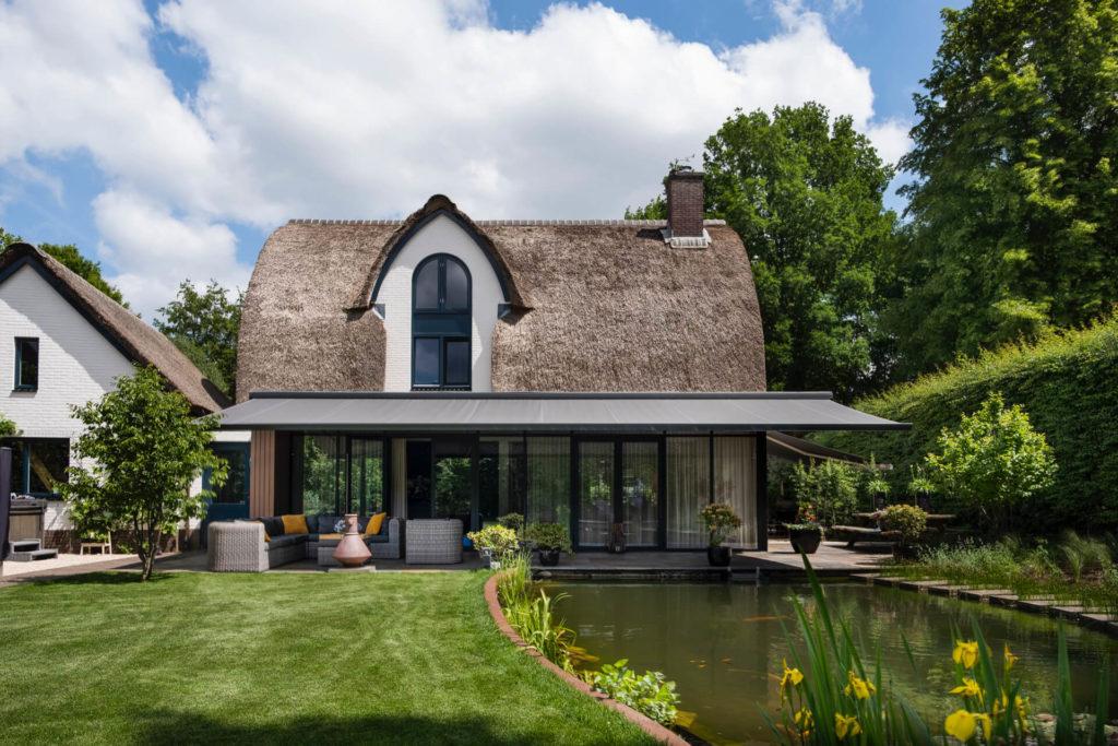 Suncircle zonwering barneveld terrasscherm knikarmscherm project extra breed 2