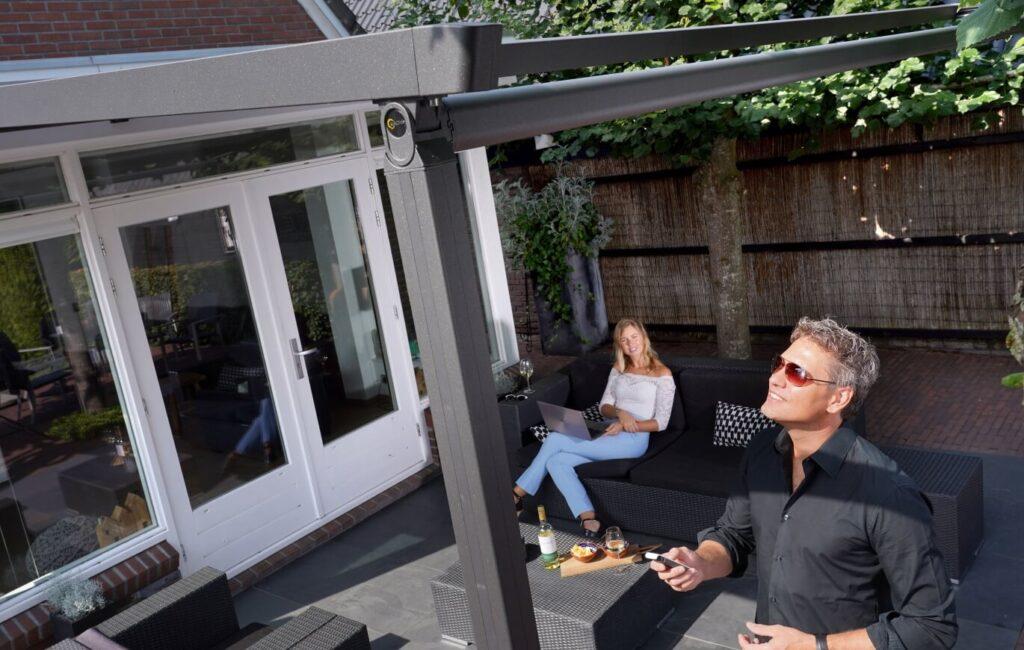 verandazonwering loungebank 1
